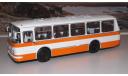 ЛАЗ 695Н бело-оранжевый ( без надписей !!! ) СОВА, масштабная модель, scale43, Советский Автобус