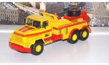 КрАЗ-260 БРО-200 Буксировочный тягач, желтый / красный  НАП, масштабная модель, 1:43, 1/43, Наш Автопром