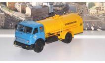 МАЗ ТЗ-500 'Огнеопасно', голубой / желтый  НАП, масштабная модель, 1:43, 1/43, Наш Автопром