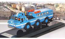 ЗИЛ 49061 Синяя птица  'МЧС', голубой  DiP, масштабная модель, 1:43, 1/43, DiP Models