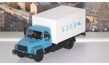Фургон для перевозки хлеба (ГАЗ 3307) Наши грузовики №4, масштабная модель, 1:43, 1/43