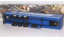 Трёхосный бортовой полуприцеп МАЗ-9758 Совтрансавто  АИСТ, масштабная модель, Автоистория (АИСТ), scale43