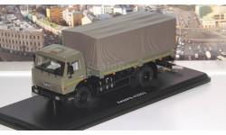 КАМАЗ-43253 бортовой с тентом   SSM