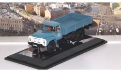 ЗИЛ 130 бортовой 1983 г., голубой   DiP, масштабная модель, 1:43, 1/43, DiP Models