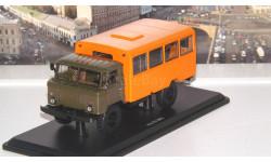 Вахтовый автобус (66)   SSM, масштабная модель, 1:43, 1/43, Start Scale Models (SSM), ГАЗ