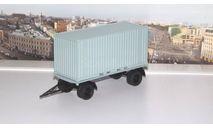 Прицеп ГКБ-8350 с контейнером  АИСТ, масштабная модель, scale43, Автоистория (АИСТ)