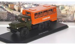 Вахтовый автобус НЕФАЗ-42112 (4320)  SSM, масштабная модель, 1:43, 1/43, Start Scale Models (SSM), УРАЛ