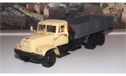 КРАЗ 257Б (1969-1977), бежевый / серый НАП, масштабная модель, 1:43, 1/43, Наш Автопром