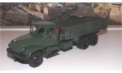 КРАЗ 219Б бортовой (1963-1966), зеленый НАП, масштабная модель, 1:43, 1/43, Наш Автопром