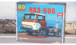 Сборная модель Седельный тягач КАЗ-608   AVD Models KIT
