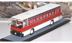 Икарус-256.51 бело-бордовый   IKARUS   ClassicBus, масштабная модель, 1:43, 1/43