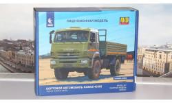 Сборная модель КАМАЗ-43502 4x4 Мустанг (рестайлинг)   AVD Models KIT