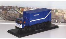 КАМАЗ-53212 с 20-футовым контейнером, Почта России SSM, масштабная модель, Start Scale Models (SSM), scale43