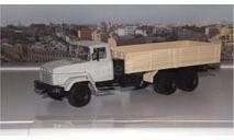 КРАЗ 250 бортовой поздний (1985-1995), бежевый НАП, масштабная модель, 1:43, 1/43, Наш Автопром