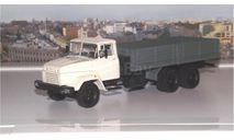 КРАЗ 250 бортовой поздний (1985-1995), серый НАП, масштабная модель, 1:43, 1/43, Наш Автопром
