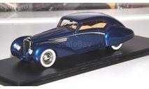 Delage D8 120 Letourneur 1938г.  Spark, масштабная модель, 1:43, 1/43