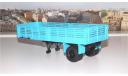 Полуприцеп МАЗ 5215, голубой АИСТ, масштабная модель, 1:43, 1/43, Автоистория (АИСТ)