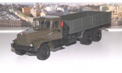 КРАЗ 257Б1 бортовой (1987-1994) хаки НАП, масштабная модель, 1:43, 1/43, Наш Автопром
