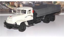 КРАЗ 257Б1 бортовой (1987-1994), серый НАП, масштабная модель, 1:43, 1/43, Наш Автопром