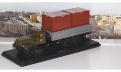 КРАЗ-257Б1 бортовой с контейнерами  SSM, масштабная модель, Start Scale Models (SSM), scale43