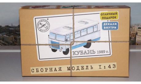 Сборная модель Кубань-Г1А1-02, 1989 г. AVD Models KIT, сборная модель автомобиля, scale43, Автомобиль в деталях (by SSM)