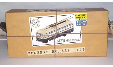 Сборная модель МТБ-82, 1962 г. AVD Models KIT, сборная модель автомобиля, 1:43, 1/43, Автомобиль в деталях (by SSM)