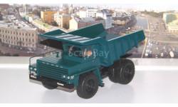 Карьерный самосвал БЕЛАЗ-540 опытный (зеленый), масштабная модель, scale43