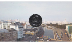 Колесо  ( чёрное )   ЗИЛ 131  Элекон, запчасти для масштабных моделей, 1:43, 1/43