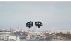 Решётки на фары ( чёрные )    ЗИЛ 131  Элекон, запчасти для масштабных моделей, scale43