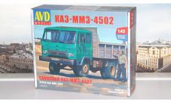 Сборная модель КАЗ-ММЗ-4502 самосвал   AVD Models KIT, масштабная модель, 1:43, 1/43