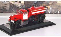 АЦУ-10(157) (1991), красный / белый   DiP, масштабная модель, scale43, DiP Models, ЗИЛ
