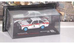 Ford Escort RS №5, Jean-Pierre Nicolas / Vincent Laverne Rallye de Portugal 1978, журнальная серия масштабных моделей, Altaya Rally, scale43