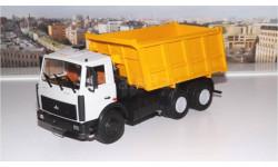 МАЗ 5516 самосвал (серый/желтый)  АИСТ