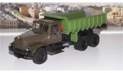 КрАЗ 256 Б1 самосвал, хаки/зеленый НАП, масштабная модель, 1:43, 1/43, Наш Автопром