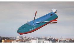Лодка Казанка-М с вёслами и ПЛМ Вихрь   ModelPro
