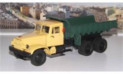 КрАЗ 256Б (1966-69гг.), желто-зеленый НАП, масштабная модель, 1:43, 1/43, Наш Автопром