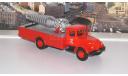 Пожарный автомобиль АГВТ-200   Наши Грузовики № 9, масштабная модель, scale43, ЗИЛ