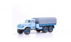 КРАЗ 255Б1 (1967), голубой НАП, масштабная модель, 1:43, 1/43, Наш Автопром