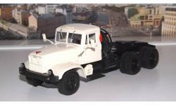 КРАЗ 258Б1  (1987-1993г.) белый НАП, масштабная модель, 1:43, 1/43, Наш Автопром