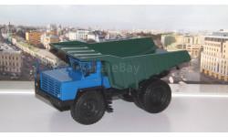БелАЗ-548А самосвал, синий / зеленый    НАП, масштабная модель, 1:43, 1/43, Наш Автопром