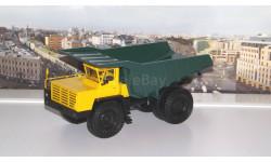 БелАЗ-548А самосвал, желтый / зеленый    НАП, масштабная модель, Наш Автопром, scale43