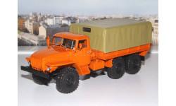 УРАЛ 4320 с тентом (оранжевый) АИСТ