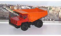 БелАЗ-7510 самосвал-углевоз, красный / оранжевый    НАП, масштабная модель, Наш Автопром, scale43