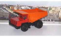 БелАЗ-7510 самосвал-углевоз, красный / оранжевый    НАП