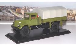 МАЗ 502 4х4 бортовой с тентом, покрышки Я-90 (зелёный) SSM