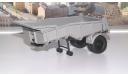 полуприцеп МАЗ 5232В (серый) АИСТ, масштабная модель, 1:43, 1/43, Автоистория (АИСТ)