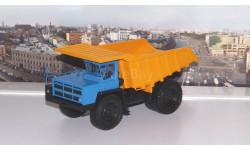 БелАЗ-7548 карьерный-самосвал, синий / оранжевый    НАП, масштабная модель, Наш Автопром, scale43