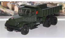 КРАЗ 222Б самосвал (1963-1966), зеленый НАП, масштабная модель, 1:43, 1/43, Наш Автопром