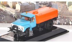 ЗИЛ КО-002 Автомобиль Поливомоечный - 1990 г. Новосибирск, голубой / оранжевый   DiP, масштабная модель, 1:43, 1/43, DiP Models