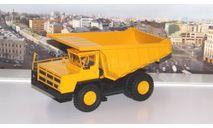 БелАЗ-7526 карьерный самосвал, желтый   НАП, масштабная модель, Наш Автопром, scale43